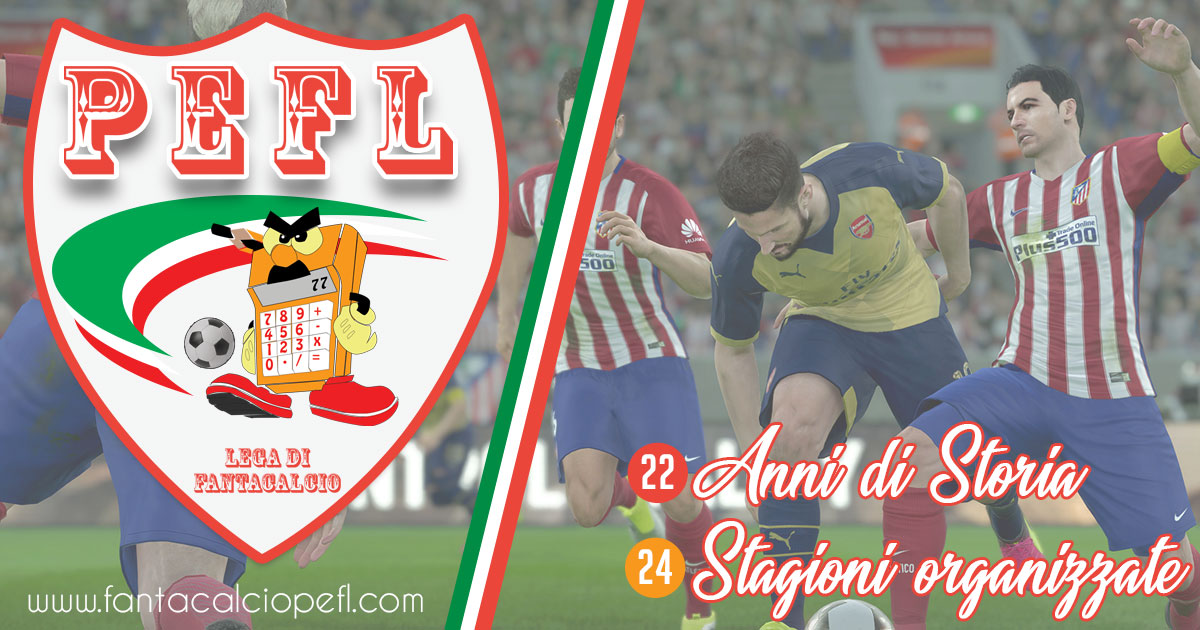 PEFL (ProEvolution FantaLeague) - Lega di Fantacalcio online messinese